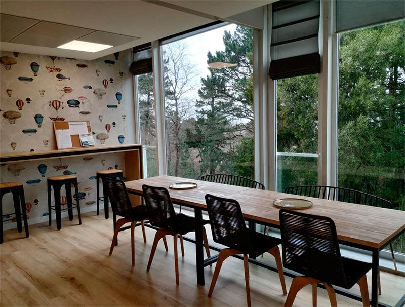 Alor Office seating area in Donostia San Sebastián