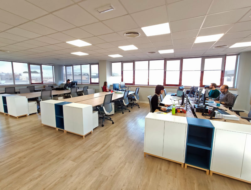 Alor-tech Office in Madrid, Alcobendas